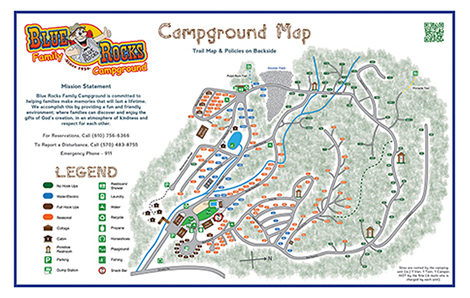 Maps & Rules | Blue Rocks Family Campground Camping Maps on vacation travel map, parks map, fishing map, hiking map, summer vacation map, travling map, the mountains map, fatality map, dorm room map, campground map, dangerous animals map, restroom map, treasure map, frontier town ocean city md map, international food map, forest areas map, underground lakes map, tarp map, places to go map,
