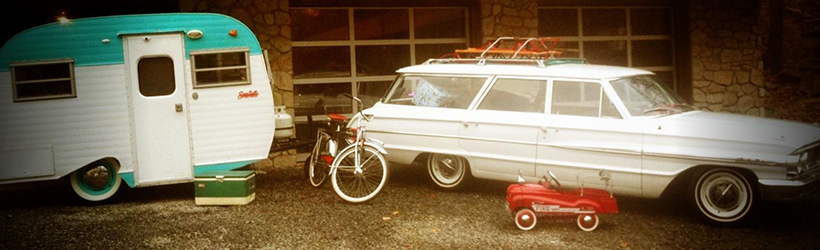 Old picture, showing our Serro Scotty Camper.